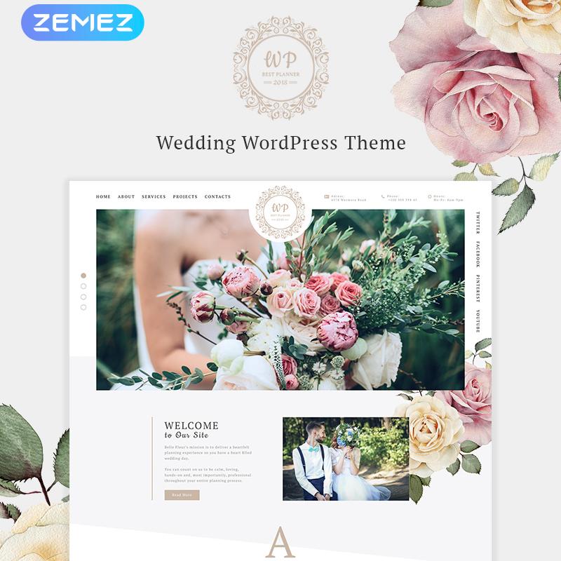 Güzel Çiçek Elementor WordPress Tema