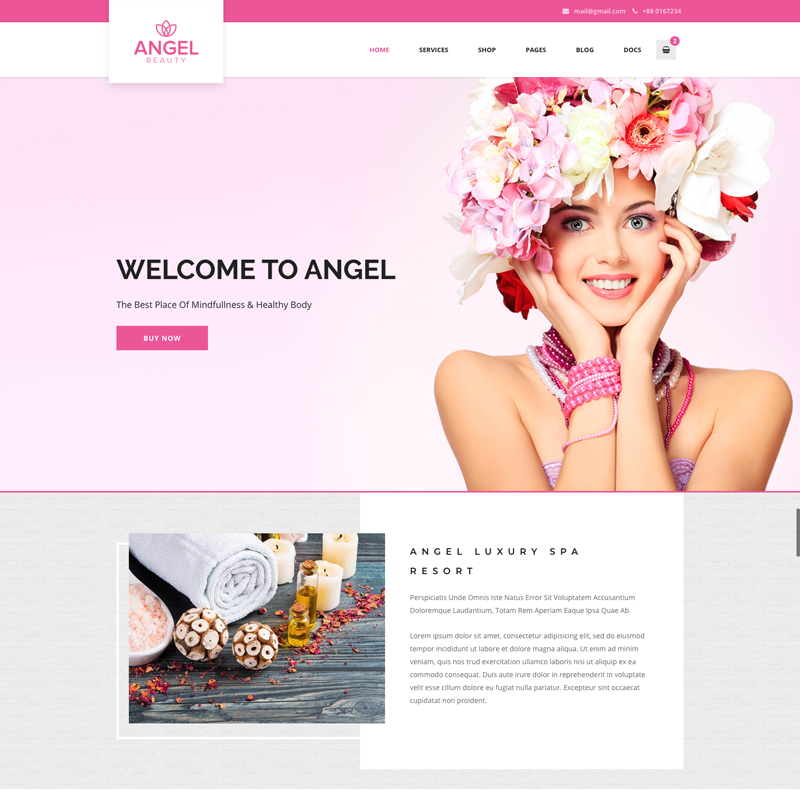 Angel Thème WordPress