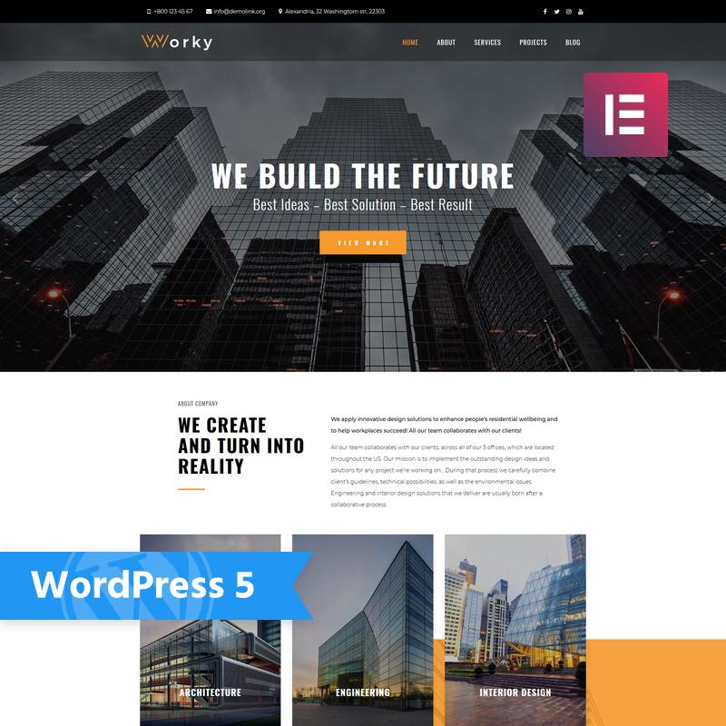 Worky WordPress Teması