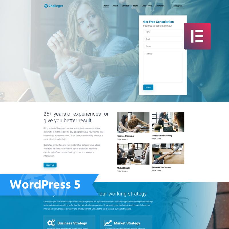 Challeger WordPress Theme