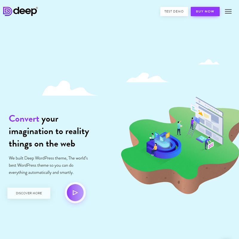 Deep WordPress Theme