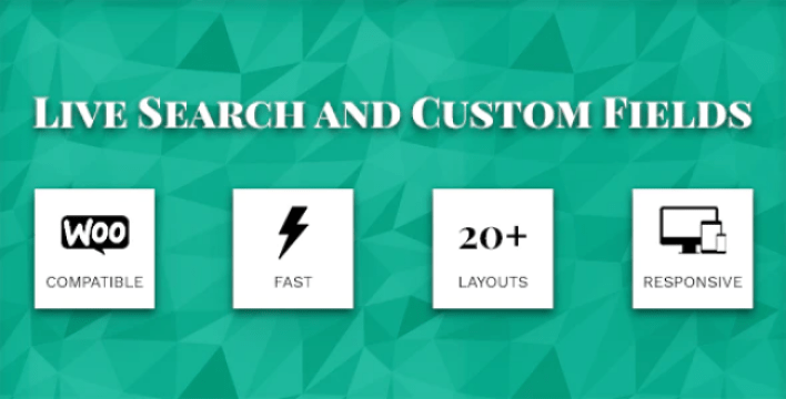 plugins WordPress pour améliorer la recherche - Live search and custom fields