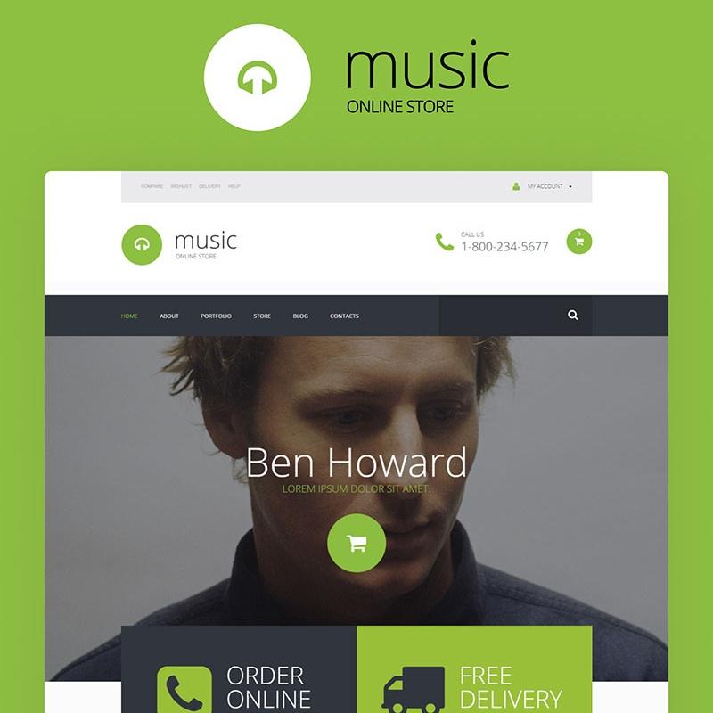 Verzameling van exclusief audio-thema WooCommerce adaptief