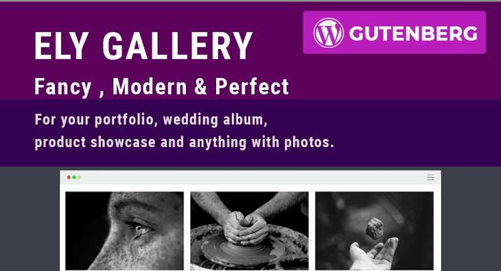 Ely plugin wordpress créer galerie portfolio blogpascher