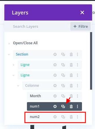 Dupliquer module texte divi 1