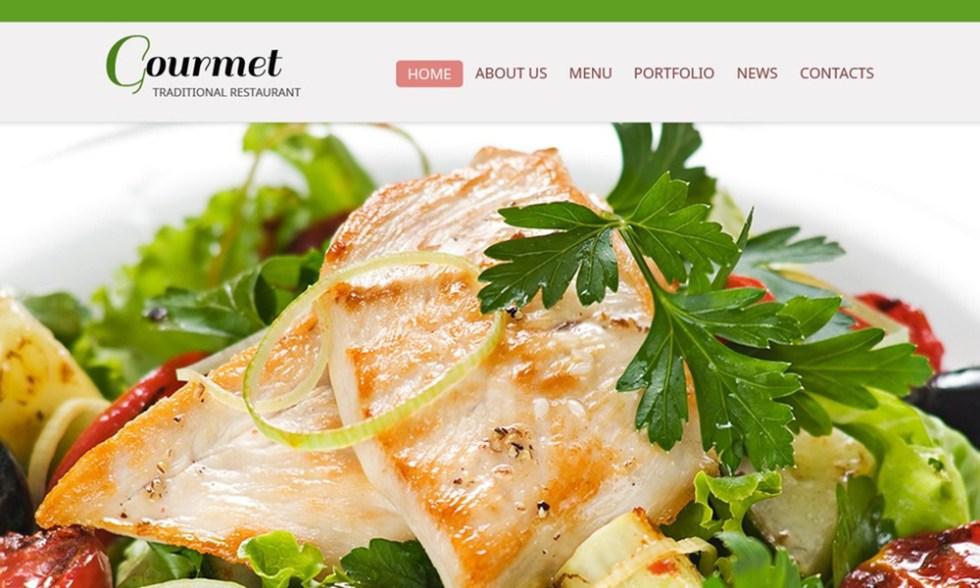 Modèle HTML gratuit - Restaurant