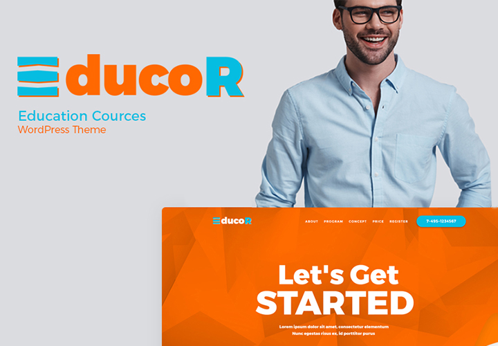 Educor - Thème WordPress Elementor pour cours de formation