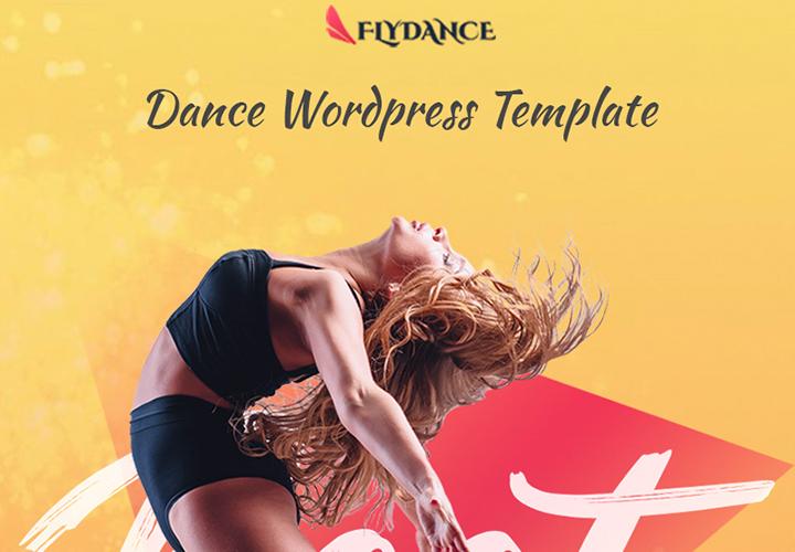 Flydance - Thème WordPress Elementor pour classes de danse