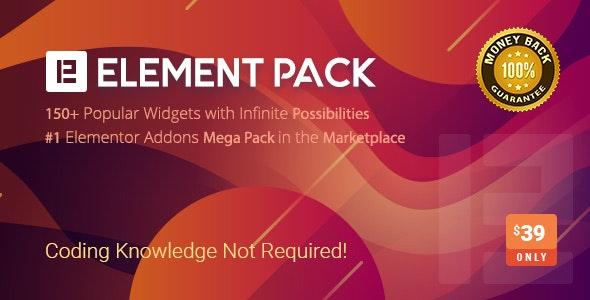 Element pack wordpress plugin preview image