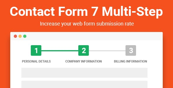 Contact form 7 multistep pro