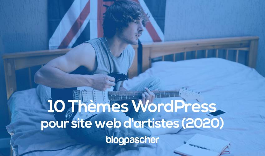 10 themes wordpress pour site web dartiste 1