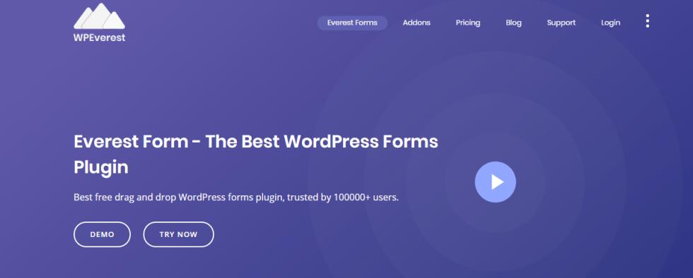Everest form plugin wordpress formulaire blogpascher