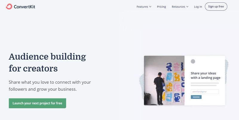 Outils automatisation marketing petites entreprises converkit blogpascher