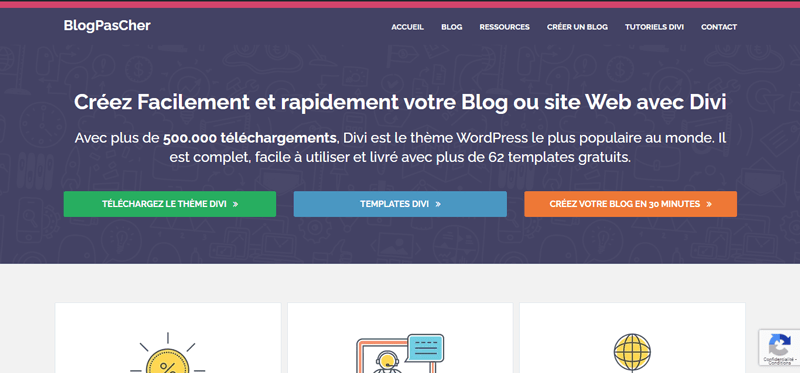 Blogpascher site web vs blog