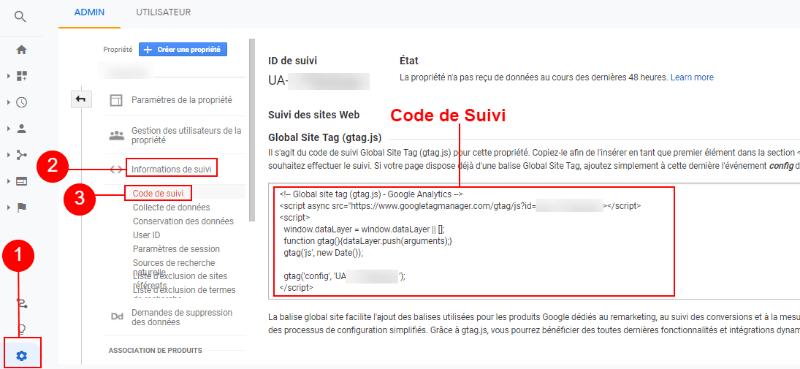 Google Analytics для отслеживания кода blogpascher