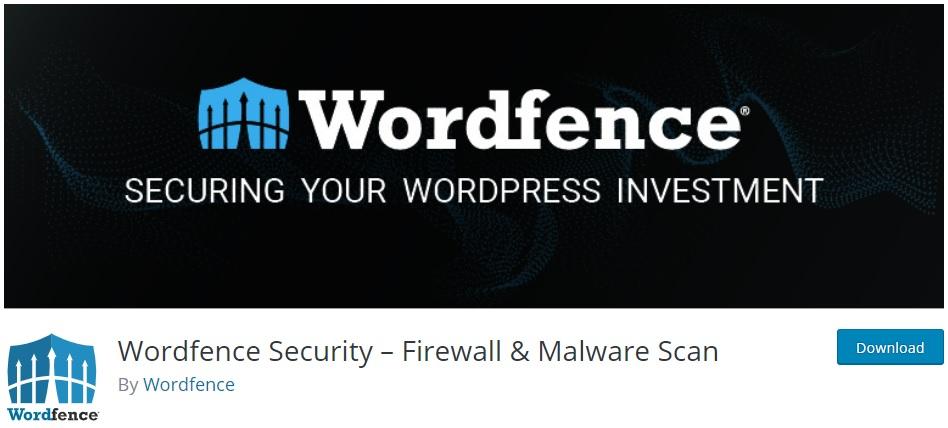 wordfence security wordpress login