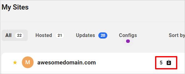 Le Hub - Met à jour le compteur de notifications.
