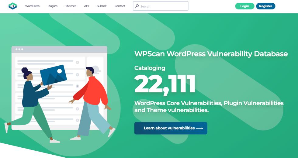 La vulnérabilité WPScan exploite la base de données.