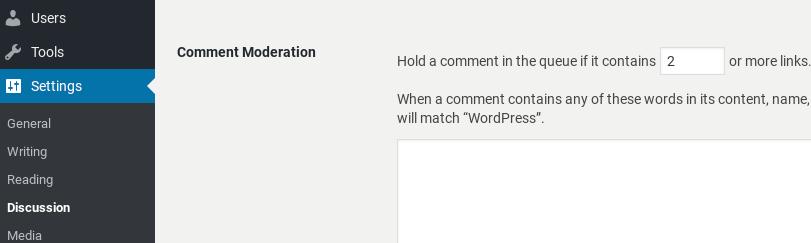 Modérer les commentaires dans WordPress.
