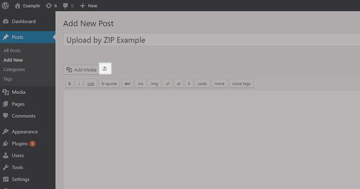 Téléchargement en masse de fichiers vers wordpress-7a