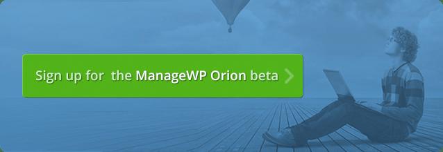 Gérer l'inscription à la version bêta de WP Orion