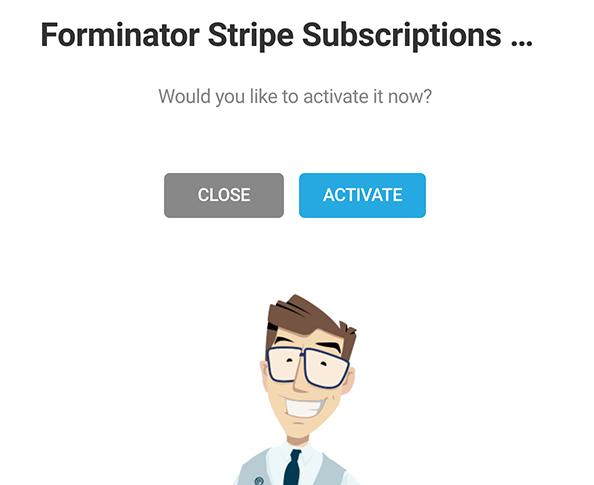 Où vous activez l'option d'abonnement.