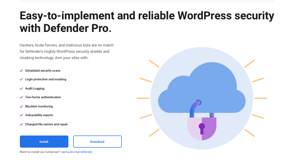 Un aperçu de Defender Pro, notre plugin de sécurité WordPress