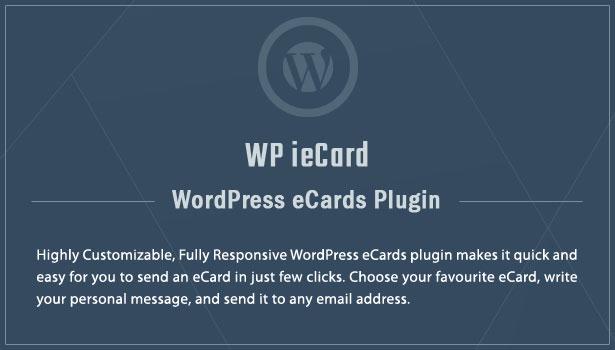 WP iecards Plugin WordPress eCards