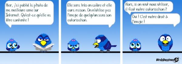 Mme Alberty © BirdsDessines.fr, 2009.