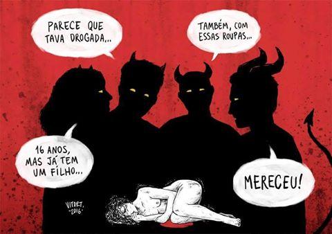 ninguc3a9m merece ser estuprada - Liberdade, (falsa) Liberdade!