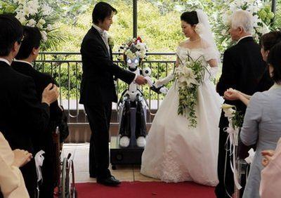 Robot wedding conductor
