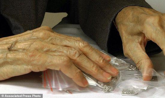 美國93歲老婦穆爾