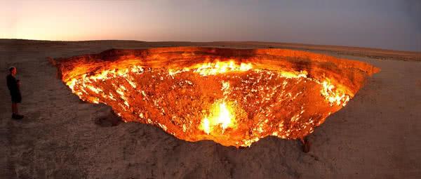 地獄之門又被叫做魔鬼的故鄉
