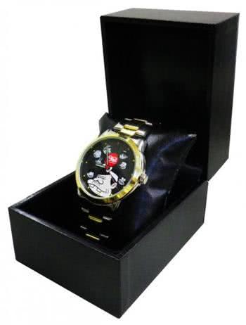 逆時針轉動的手錶