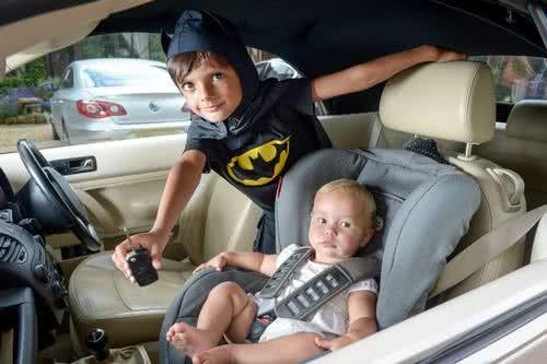 5歲小蝙蝠俠