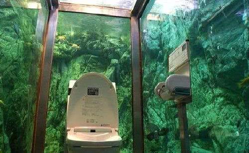 水族館主題的廁所