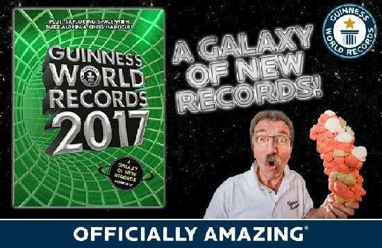 《金氏世界紀錄大全2017》