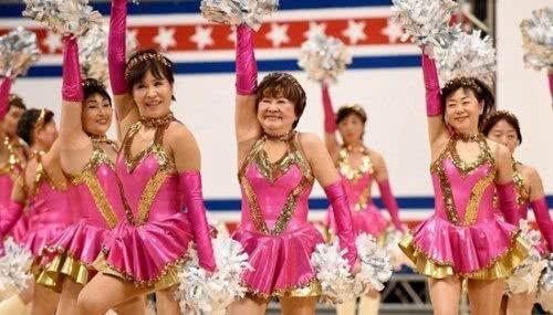 日本老奶奶啦啦隊