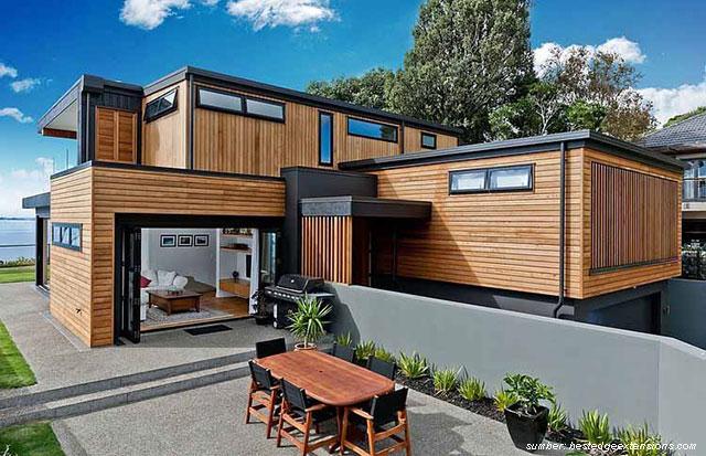 25 Desain Rumah Kayu Minimalis Hingga Termewah