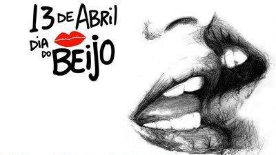 que tal beijar - dia do beijo - 13 de abril