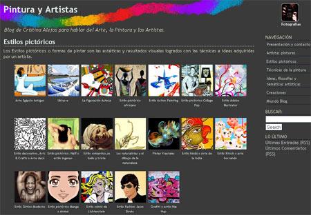 Blog de Cristina Pintura Y Artistas