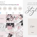 Instagram Highlight Icons Handwritten Beige Blog Pixie