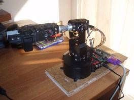 AL5A Robotic Arm Combo Kit ( Free Software ).