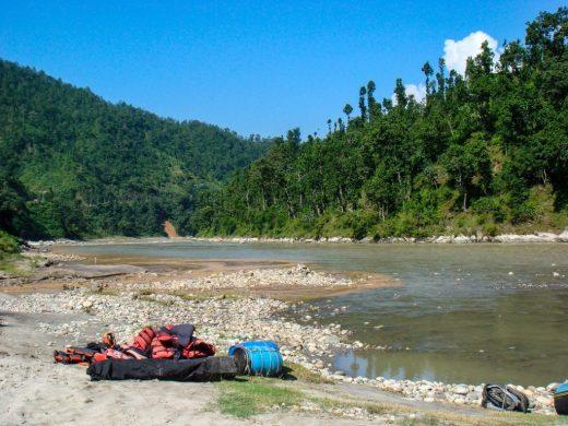 Trishuli river, white water rafting