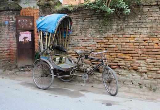 Rickshaw, Kathmandu Nepal