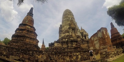 Day out in Ayutthaya, Thailand