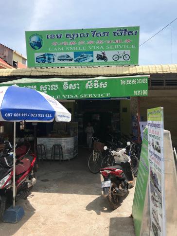 Cam Smile Visa Service, Taphul Rd, Siem Reap