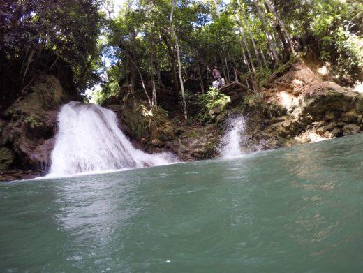 Ocho Rios Jamaica blue hole