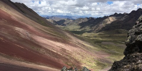 Overcoming My Limits: Rainbow Mountain and Red Valley