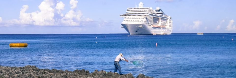 Cruising Into Grand Cayman